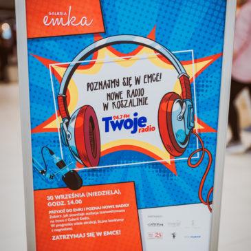 Fotografia Koszalin – Twoje radio 94.7 FM – relacja z Emki