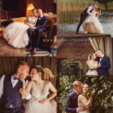 Plener ślubny w Bursztynowym Pałacu
